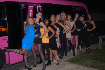 pink limo birthday pink limo hire bournemouth