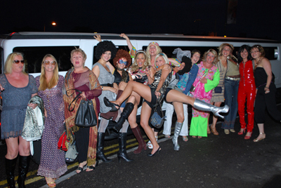 hummer limo hire bournemouth for hen party